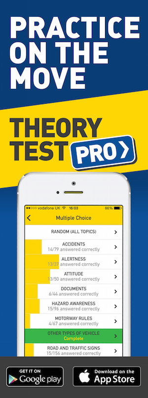 Theory Test Pro in partnership with JSF Driving School
